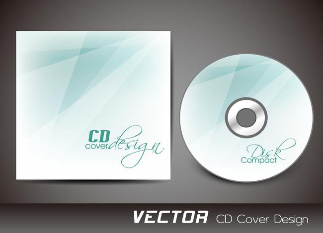 白色时尚个性cd封面设计模板下载(图片编号:13147701)