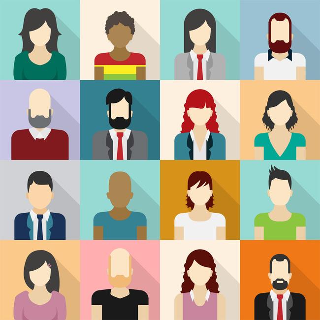 ppt图标 系统 应用 商务 商业 金融 经济 职业人物 职场形象 卡通