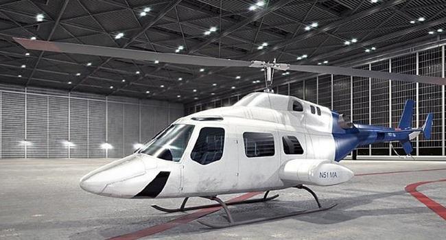 民用直升飞机三维模型02