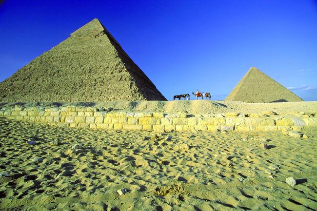 埃及文化建筑工程古迹名胜风景