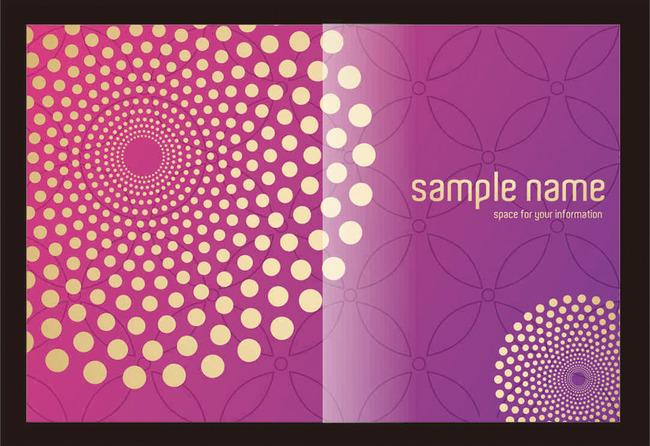 平面设计 画册设计 企业画册(封面) > 紫红色圆点封面  下一张&