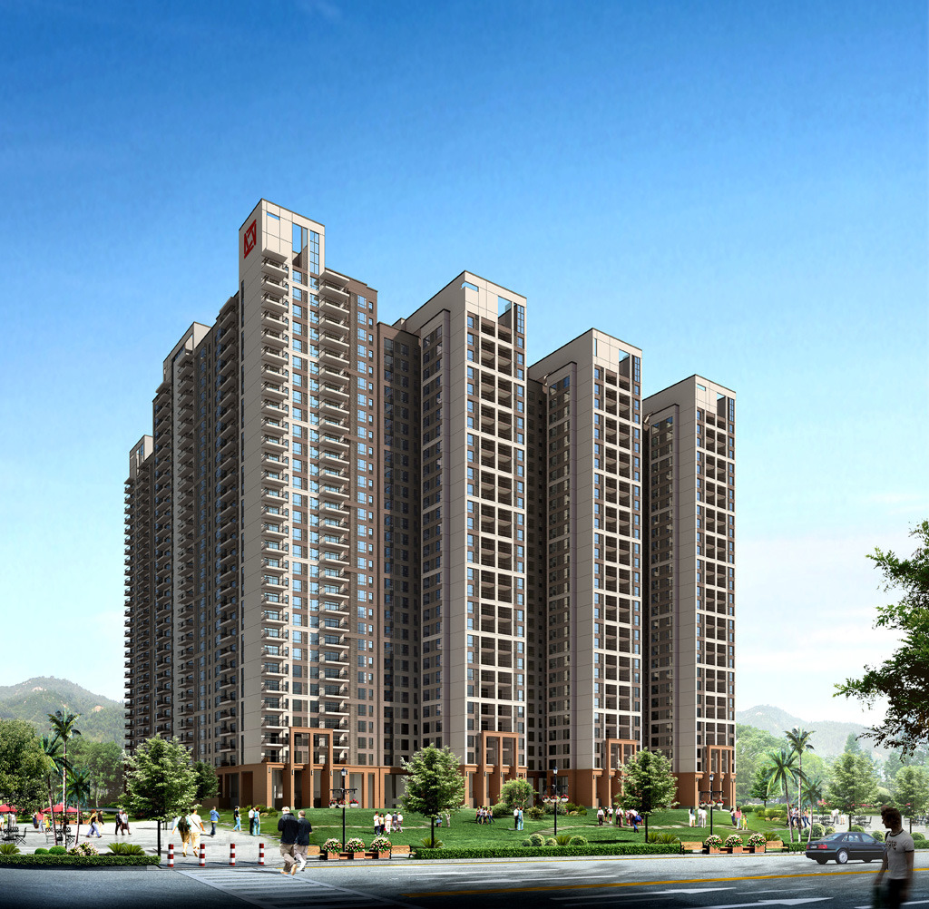其他 效果图 其他效果图 > 高层住宅立面设计方案  下一张&gt