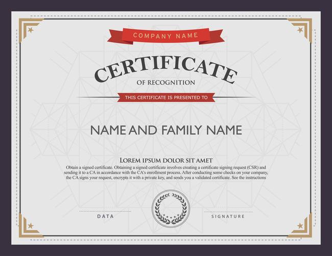 奖状证书国外模板模板下载(图片编号:13214551)