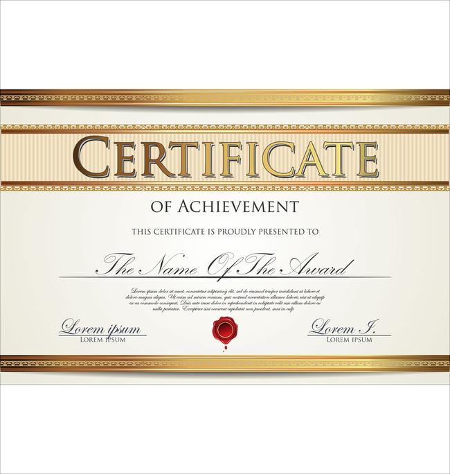 公司企业授权证书英文版
