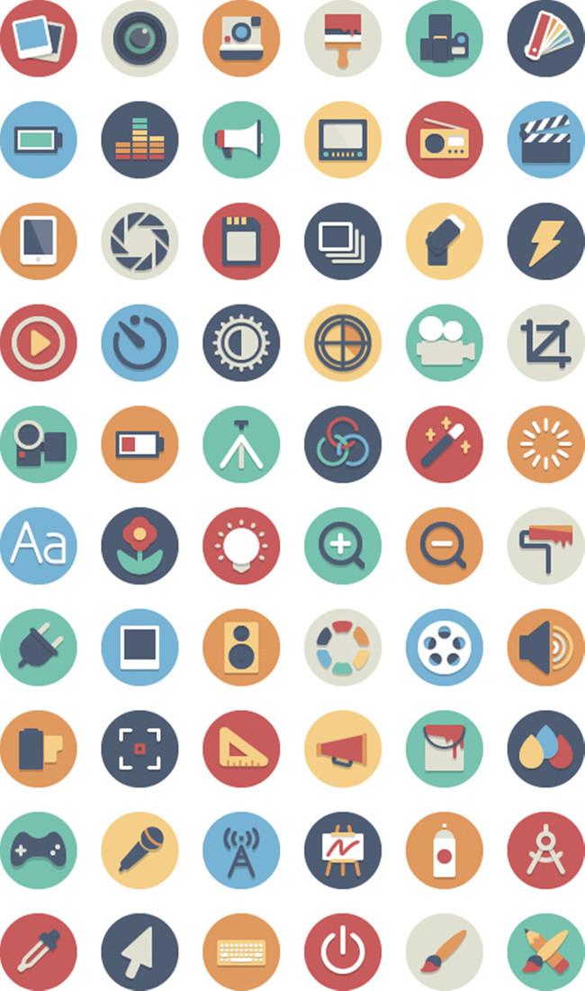 手机app彩色图标