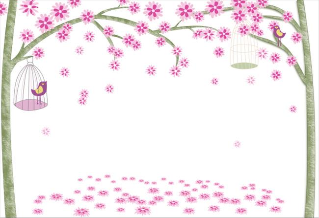 桃花林桃花图片