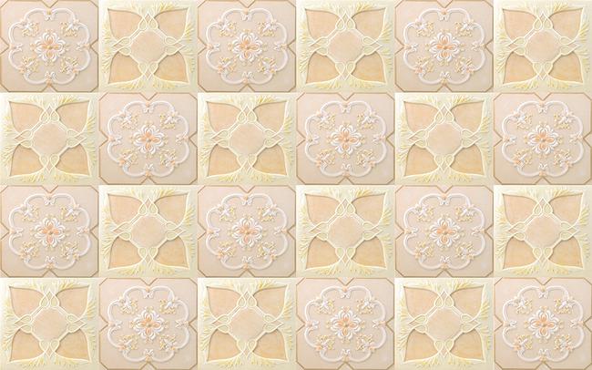 浮雕花纹欧式花纹浮雕壁画