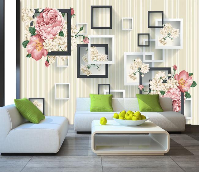 3d手绘玫瑰花