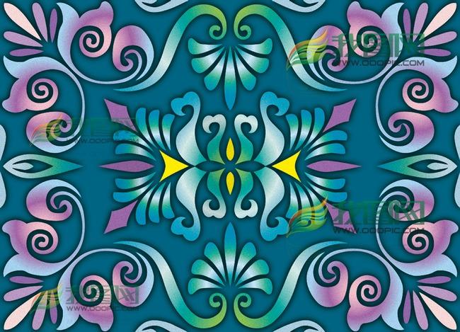 平面设计 花纹图案设计