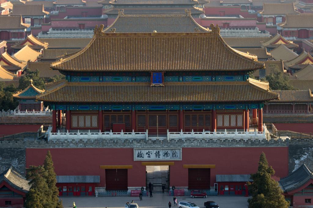 城楼 故宫角楼 城门 中国古代