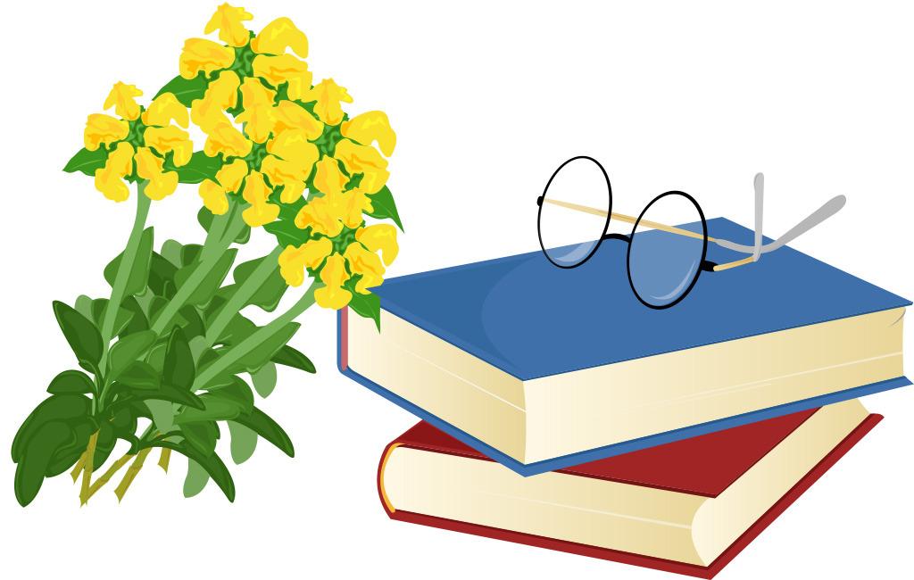 鲜花书本图标