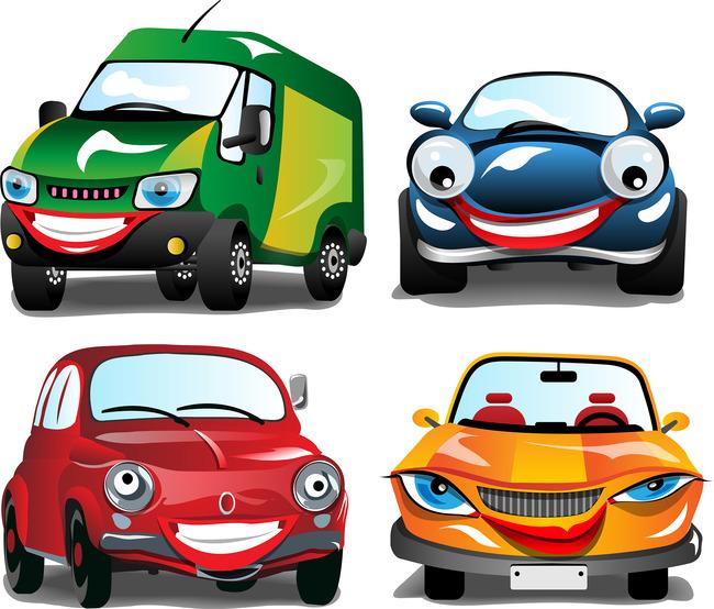 小汽车表情