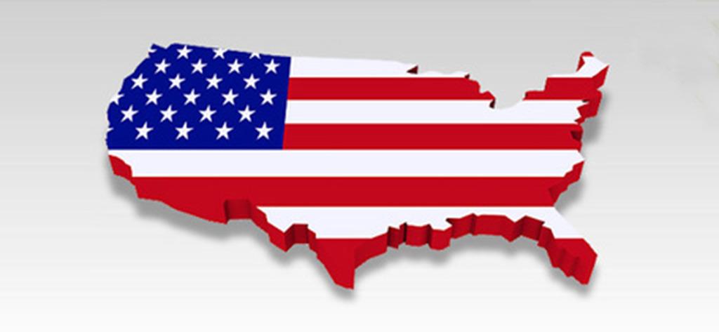 3d美国地图图标