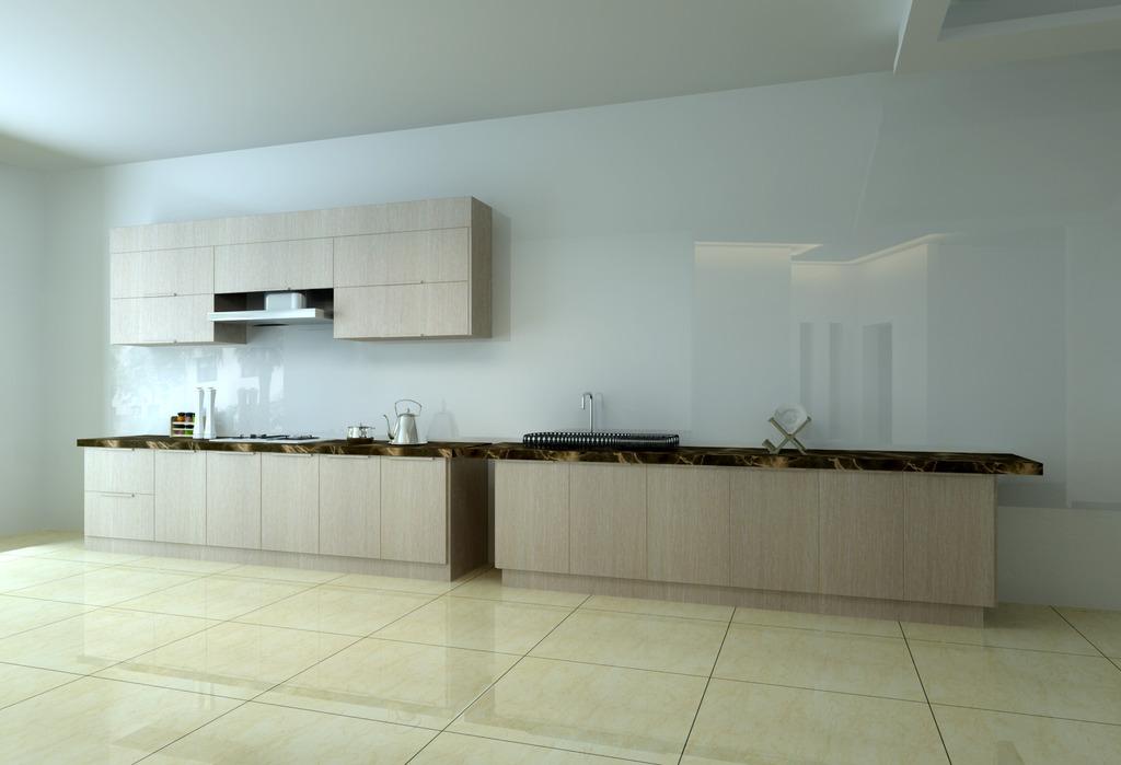 厨房灶台模型模板下载