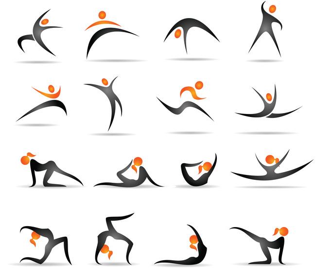 人物图标图片下载  相关运动人物图标 人物图标 线条