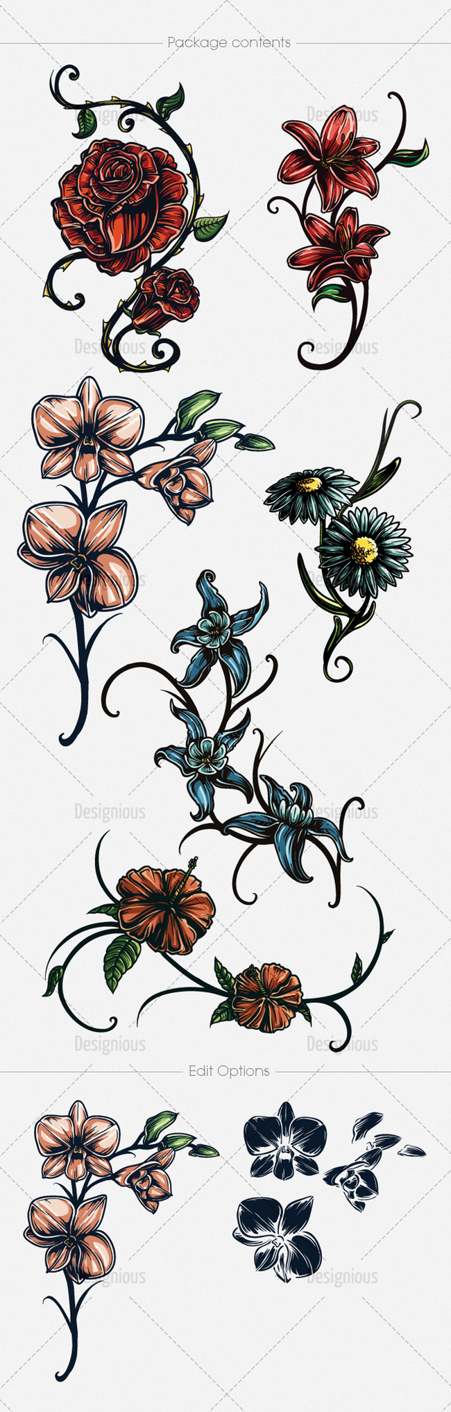 手绘陶器橙色纹样