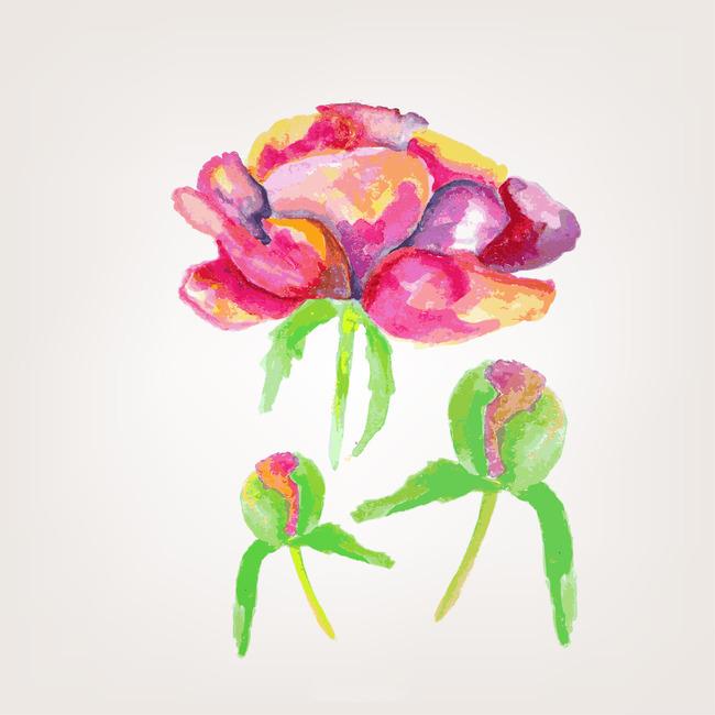 个性手绘花纹图案