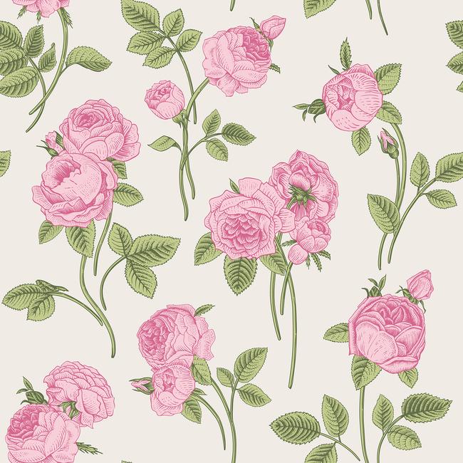 时尚个性手绘花纹花卉设计