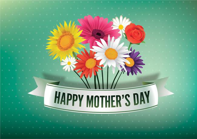 母亲节花纹花朵花底纹