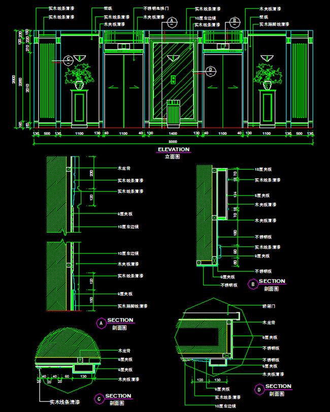 我图网提供精品流行自动扶梯电梯cad图下载素材下载,作品模板源文件可以编辑替换,设计作品简介: 自动扶梯电梯cad图下载,,使用软件为 AutoCAD 2005(.dwg) 自动扶梯电梯立面cad施工图下载 电梯立面cad施工图下载图片下载 电梯立面 cad大样图 详图 剖面图 cad电梯设计 cad设计图纸下载