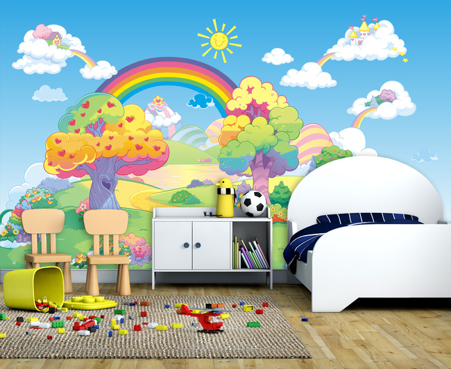 背景墙|装饰画 墙贴 卡通动漫 > 儿童房间装饰卡通背景墙  下一张&