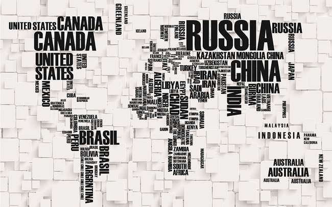 英文字母世界地图3d电视背景墙高清图片下载 650