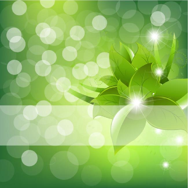 平面设计 花纹图案设计 花纹背景 > 绿色封面手绘花纹模板下载模板