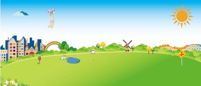 环保 幼儿园海报