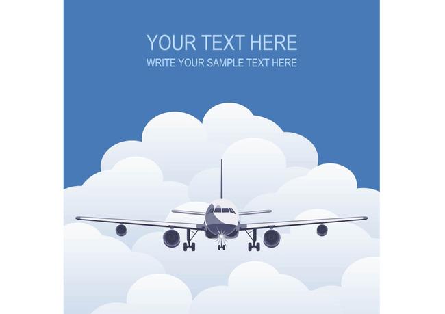平面设计 其他 插画|元素|卡通 > 白云中的飞机矢量素材图ai  下一张