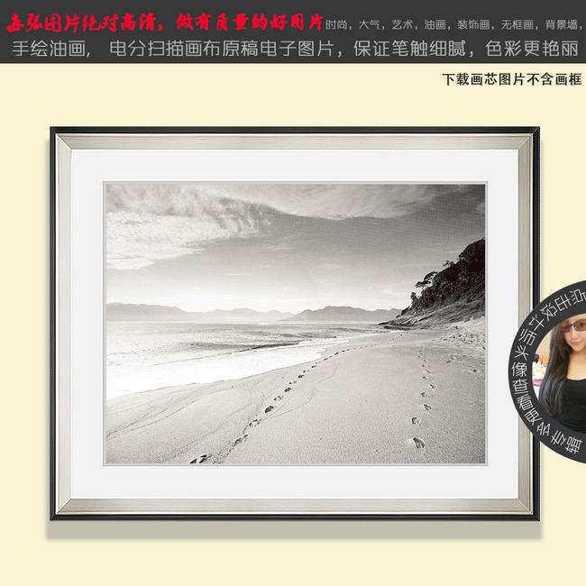 老照片 黑白画 怀旧风景 手绘 美式田园 地中海 摄影 新中式 抽象