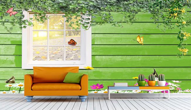 田园风格背景高清图片下载(图片编号13392300)欧式墙