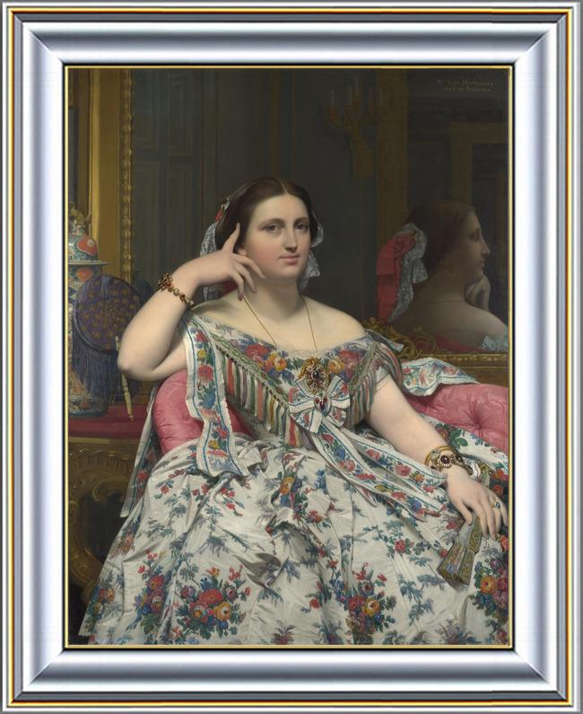 欧洲古典贵妇人体油画