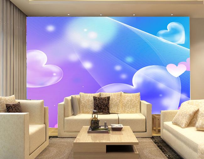 简约欧式电视背景墙