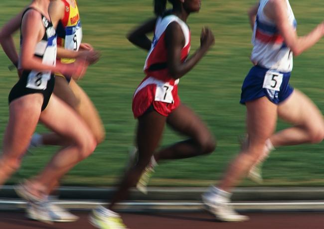 田径比赛跑步奥运体育运动摄影图片