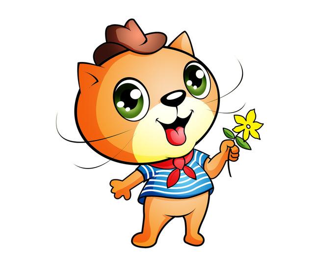 卡通小猫猫形象设计