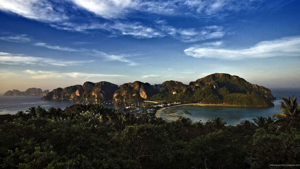 岛屿风景鸟视图图片下载 岛屿风景鸟视图 摄影自然风光视频素材 ps