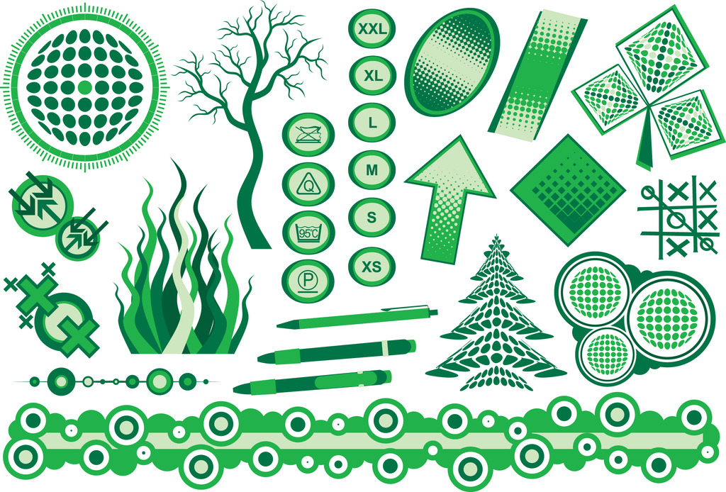 ui设计 图标 自然图标 > 绿色创意矢量素材绿色创意树木  下一张&nbsp