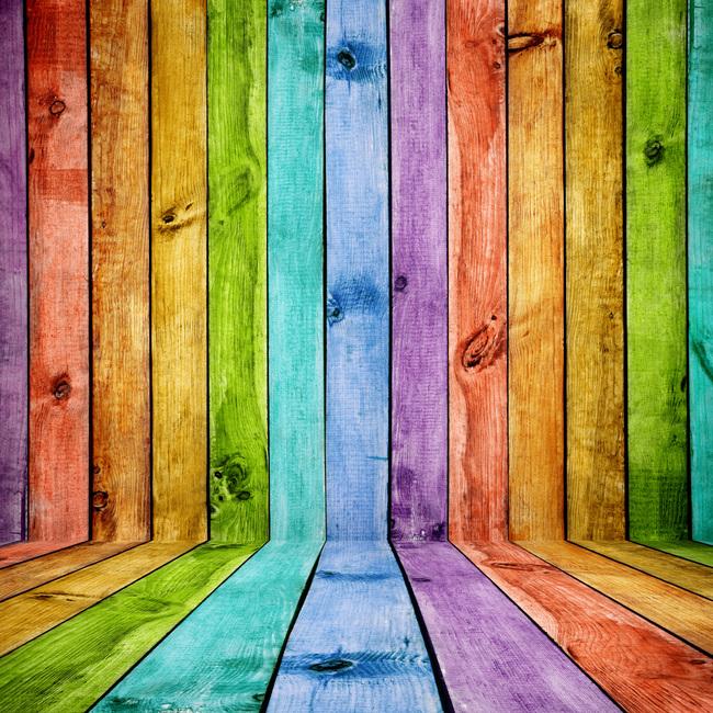 彩色木纹高清图片