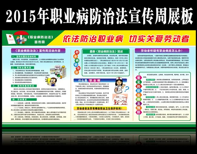 职业病防治法宣传周活动总结