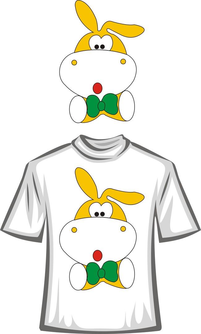 可爱卡通t恤图案