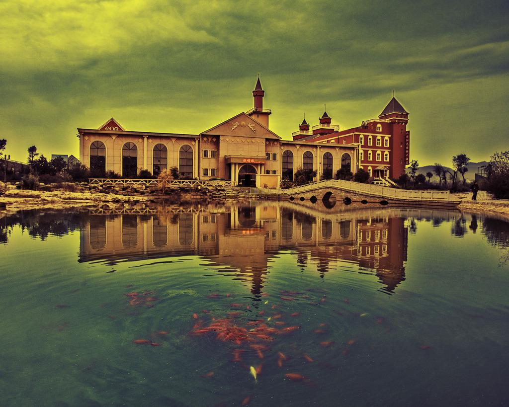 哥特式建筑 罗马式建筑 德国小镇 欧式建筑 德国风情 私人别墅 酒窖建