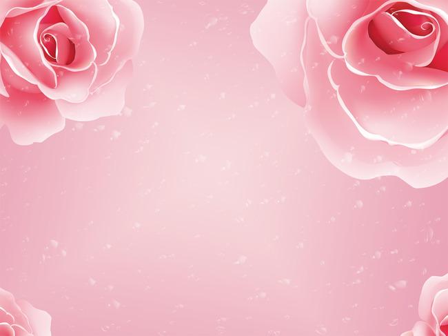 玫瑰花瓣手绘图片大全