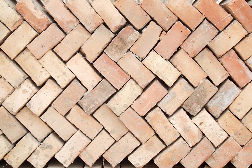 红砖斜纹纹理图瓷砖纹理贴图