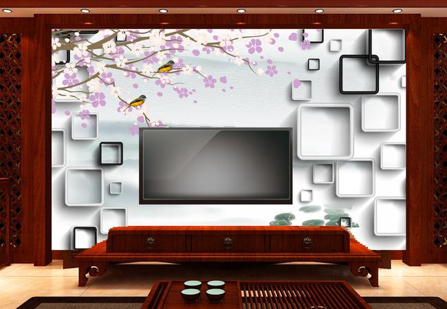 背景墙|装饰画 电视背景墙 中式电视背景墙 > 3d新中式背景墙  下一张图片
