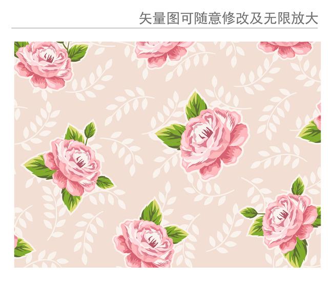 手绘玫瑰花矢量设计素材模板下载 手绘玫瑰花矢量设计素材图片下载
