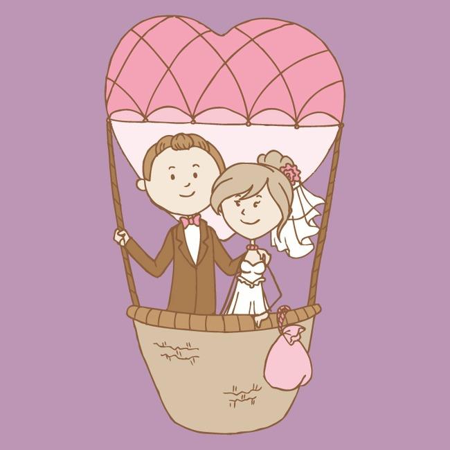 卡通人物爱情图案
