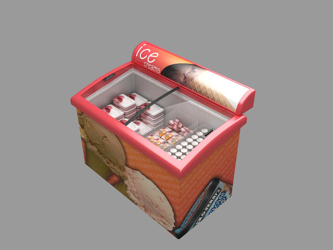 3d模型 室内设计3d模型 单体模型 > 冰柜模型  下一张&gt