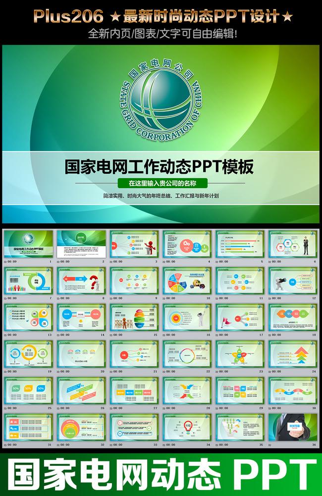 国家电网电力供电会议报告计划总结ppt