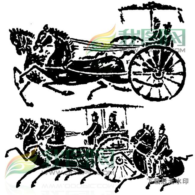 秦 汉 汉朝 汉代图案 汉代 秦汉素材 秦朝 古代 古典 花边 设计图库