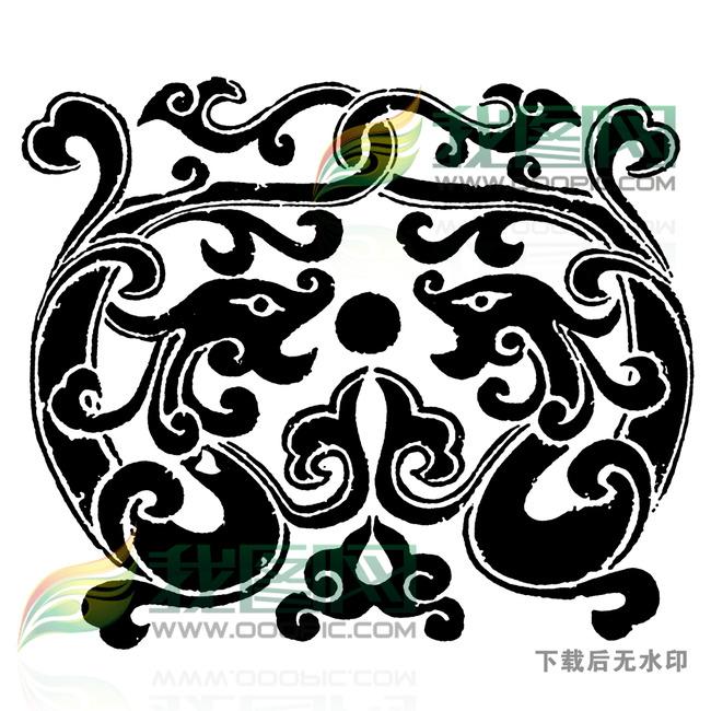 龙凤图案 龙凤呈祥 祥云图案 龟长寿 仙鹤 麒麟 图腾 鱼 连年有余